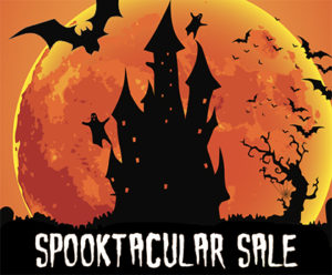 Spooktacular, Halloween Sales, Engines