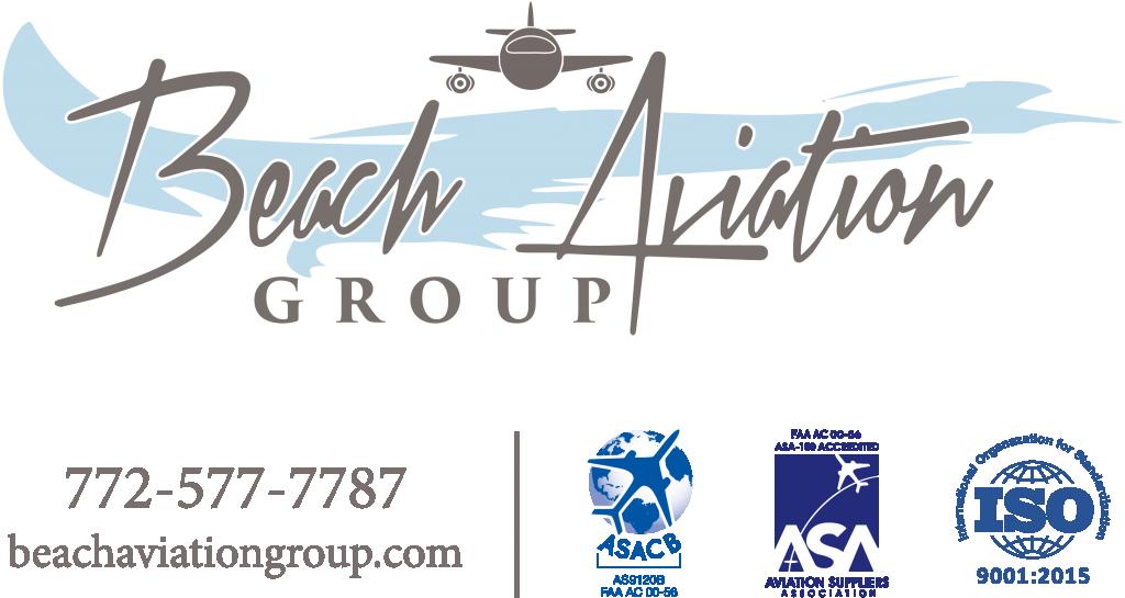 Logo-Beach-Aviation Group - Aircraft Parts - Micco Florida